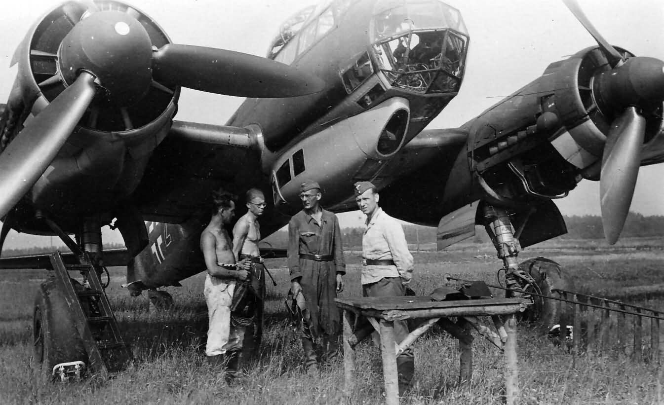 Junkers Ju88 A front view