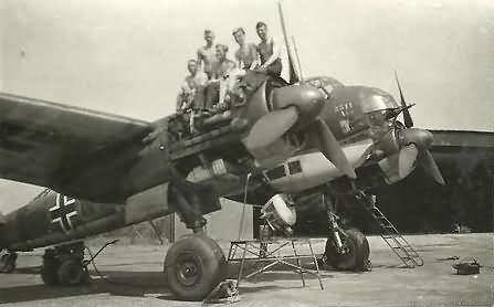 Junkers Ju88 Bomber KG30 Adler