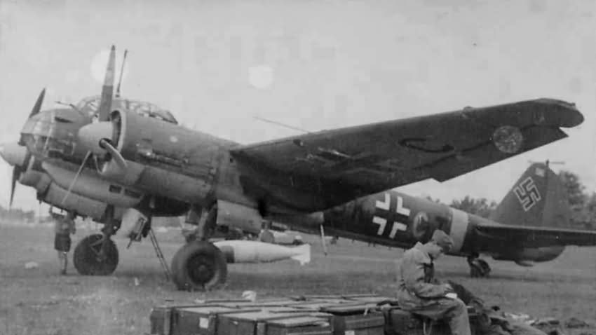 Junkers Ju88 of the KG51