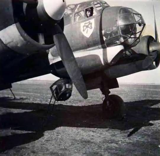 Junkers Ju88 of the Flugzeugführerschule C 8 (Luftwaffe flying school)