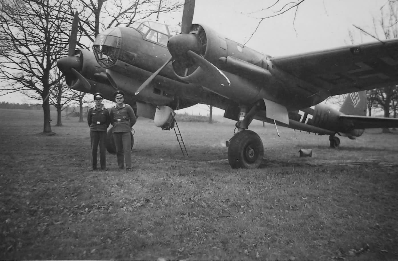 Junkers Ju88 medium bomber 11