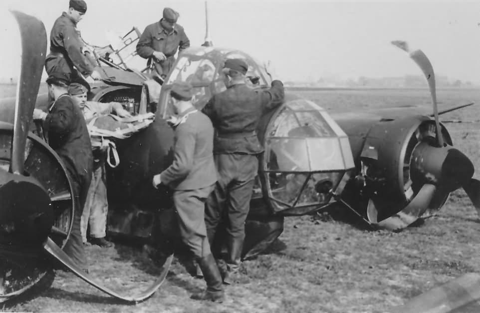 Junkers Ju88 medium bomber 3