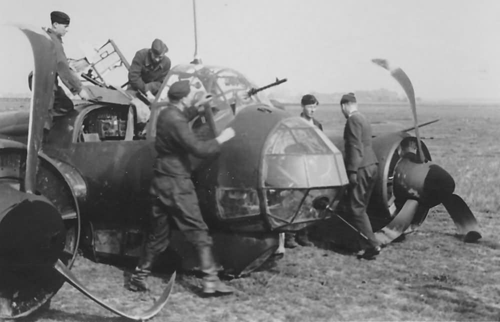 Junkers Ju88 medium bomber 5