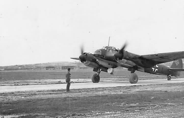 Junkers Ju 88 Catania Sicily Italy