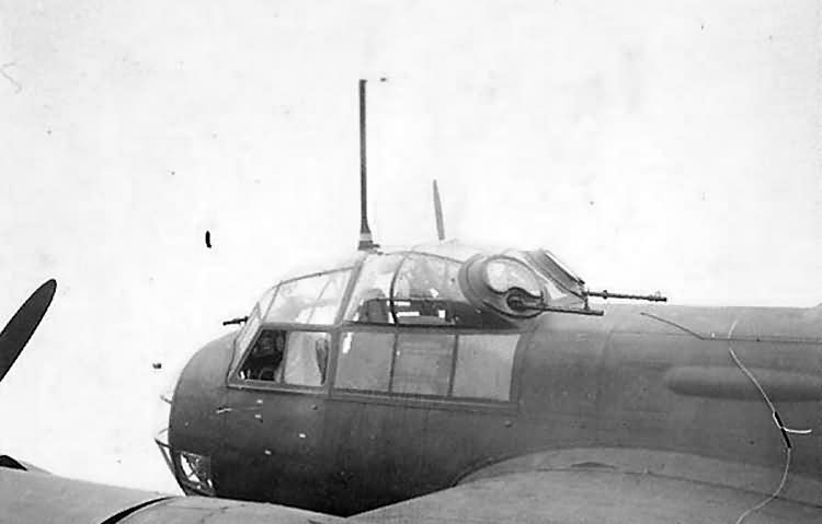 Junkers Ju 88 Cockpit Canopy