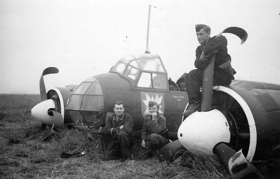 Junkers Ju 88 III/KG 51 Edelweiss