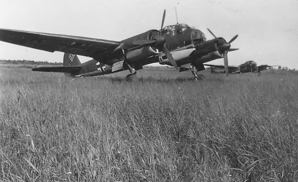Junkers Ju 88 and Fw189