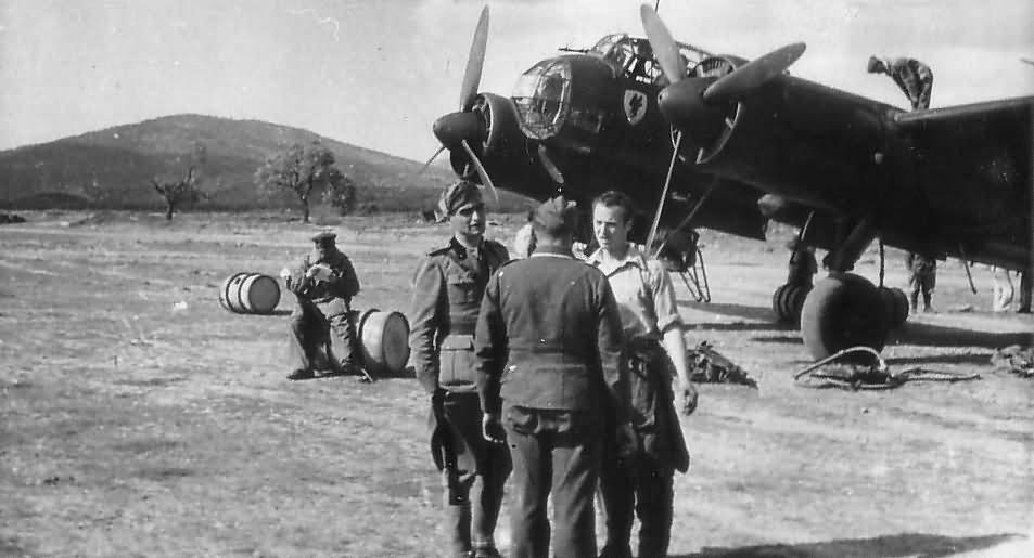 Junkers Ju 88 of KG 30 1943 Sicily