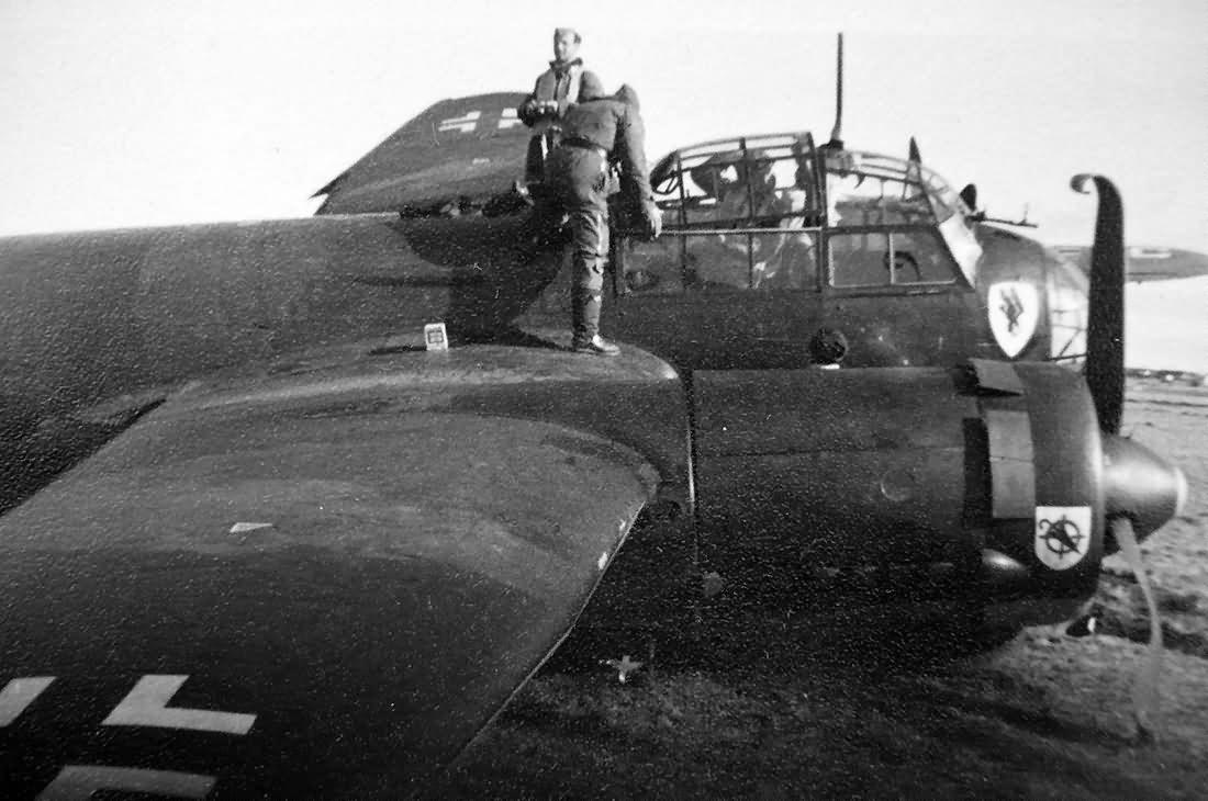 Junkers Ju 88 of 1/KG 30