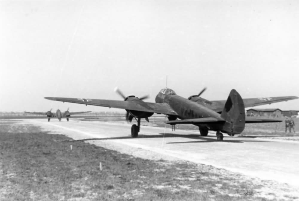 Junkers Ju 88 of KG 1 with night camo