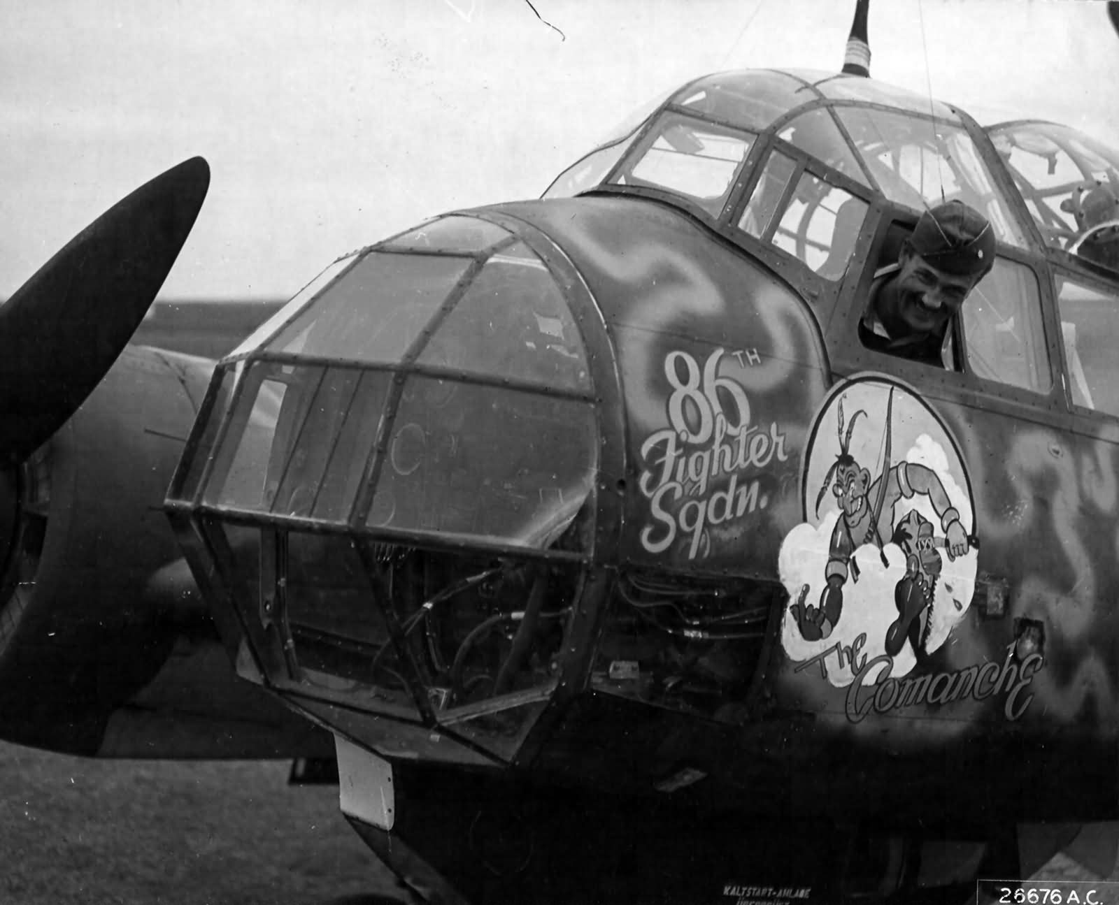 Junkers Ju 88A-4 4300227 of the 86th FS 79th FG Italy 2