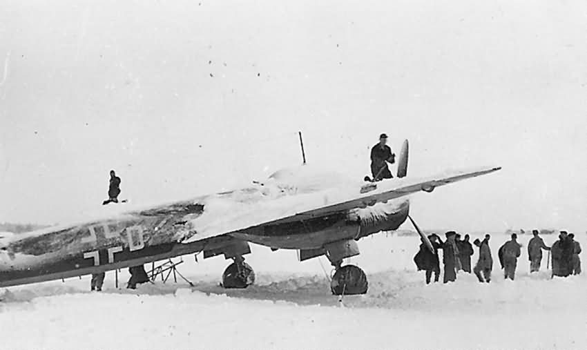 Junkers Ju 88 winter