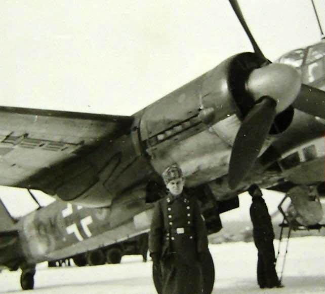 Junkers ju88 KG51 winter