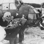 Crashed Ju88 A1 of KG 54 Totenkopf