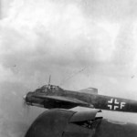 Ju88 code 3Z+FU of the KG77 in flight