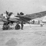 Junkers Ju88 code of the F1+DT KG76 Russia, winter