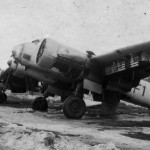Ju88 of the KG76, code F1+HS