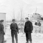 Junkers Ju88 Nachtjager with Radar FuG 202 Lichtenstein winter