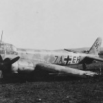 Junkers Ju88 code 7A+EH of 1/Aufklarungsgruppe 121