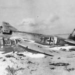 Junkers Ju 88 Bomber code 7A+LH Aufklarungsgruppe 121 in African Desert