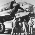 Junkers Ju 88 D-1 and crew