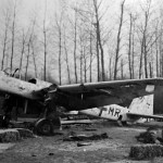 Junkers Ju 88 G +MR wreckage