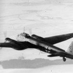 Junkers Ju 88 of the KG1 in flight