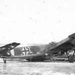 Junkers Ju 88 code 7A+LL of the Aufklarungsgruppe 121