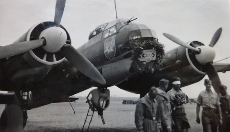 Ju 88 KG51 bomber
