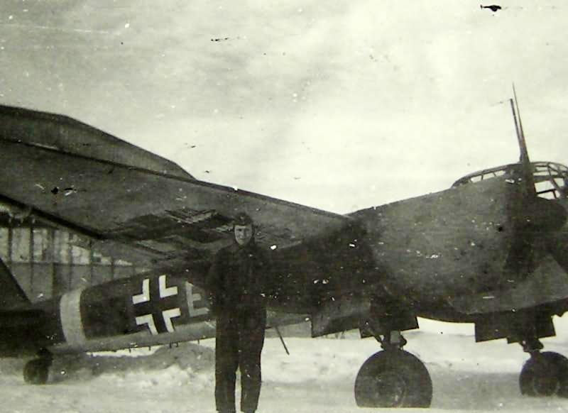 Ju88A of the KG54, winter