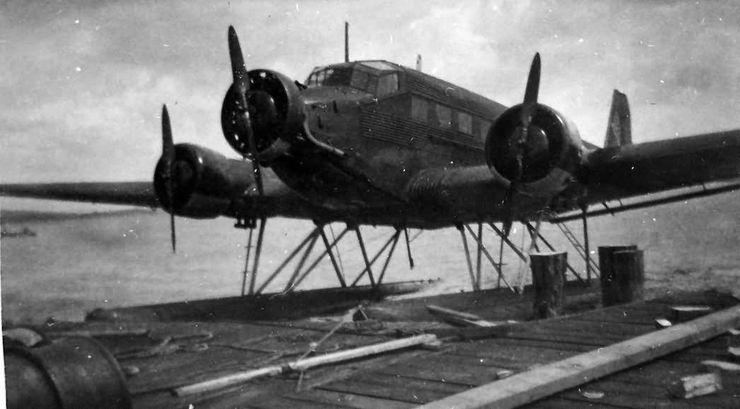 Floatplane Ju 52 3mg5e 1940 France