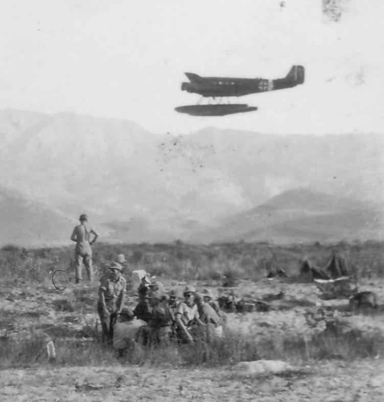 Floatplane Ju 52 Greece