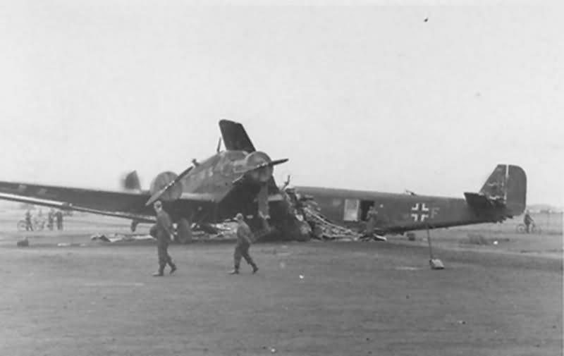 Junkers Ju 52 3m 1940 Evreux