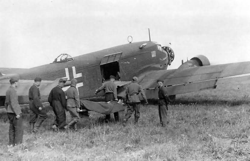 Junkers Ju 52/3m France June 1940
