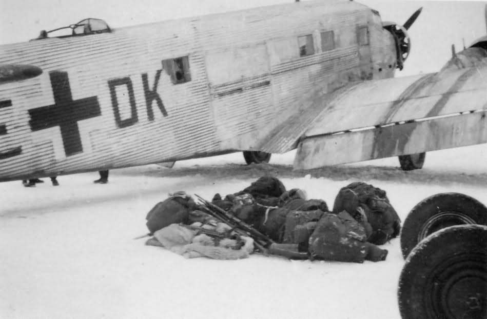 Junkers Ju 52 3m winter
