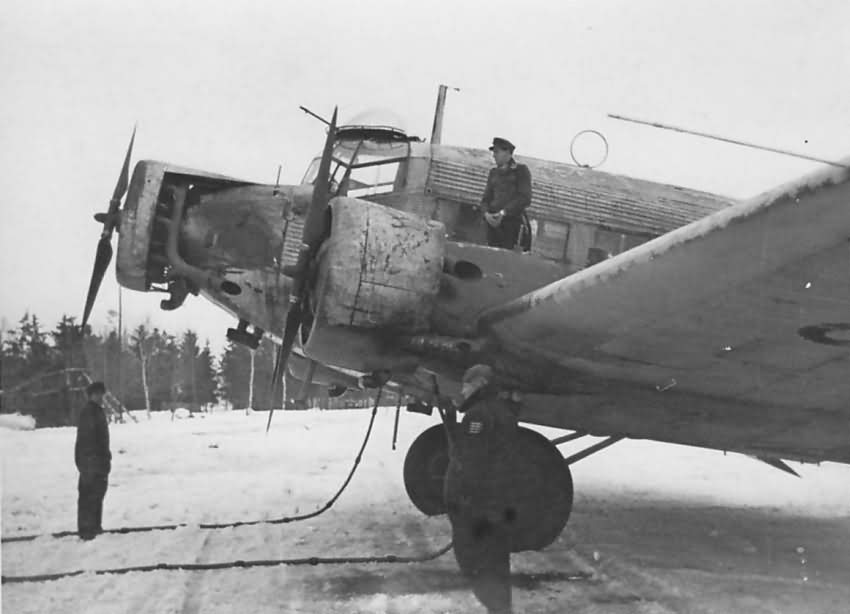 Junkers Ju 52 3m winter camo 1943 1944