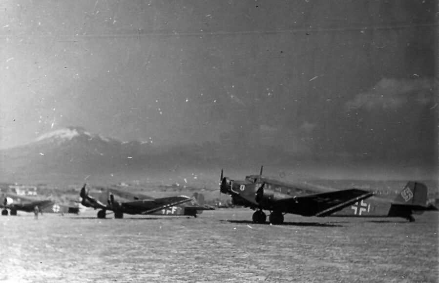 Junkers Ju 52 Catania Italy