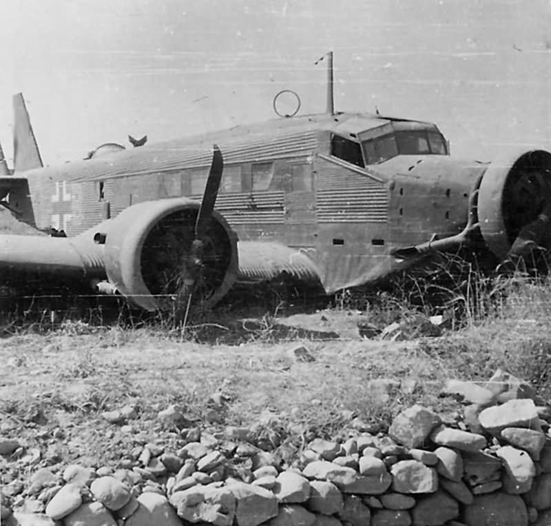 Junkers Ju 52 Crete Greece 1941
