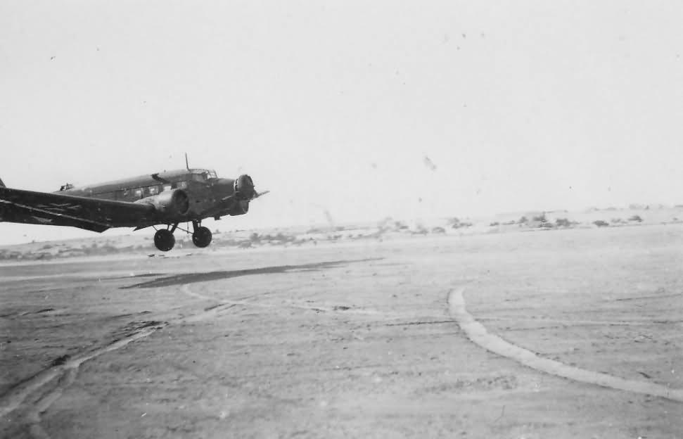 Junkers Ju 52 DAK Afrika