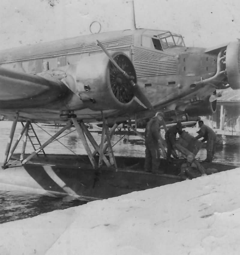 Junkers Ju 52 Floatplane Greece