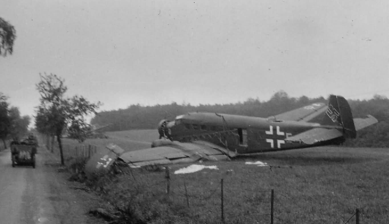 Junkers Ju 52 France