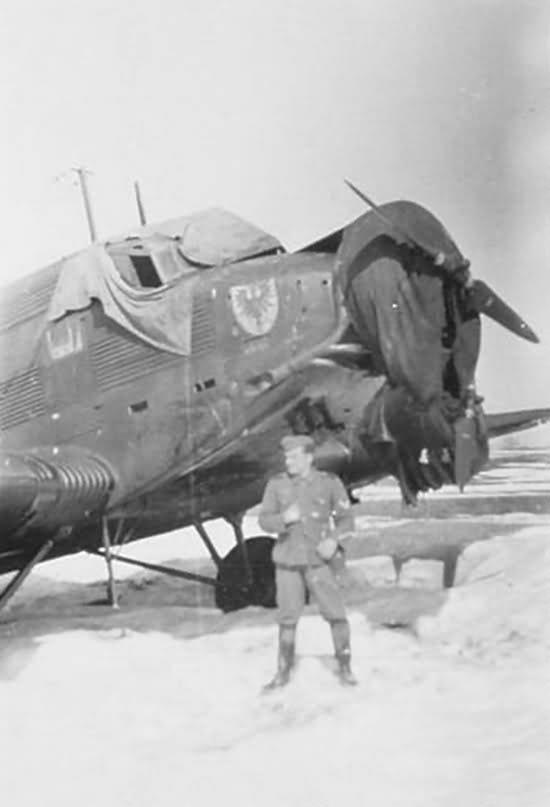 Junkers Ju 52 from Kampfgruppe zur besonderen Verwendung 500