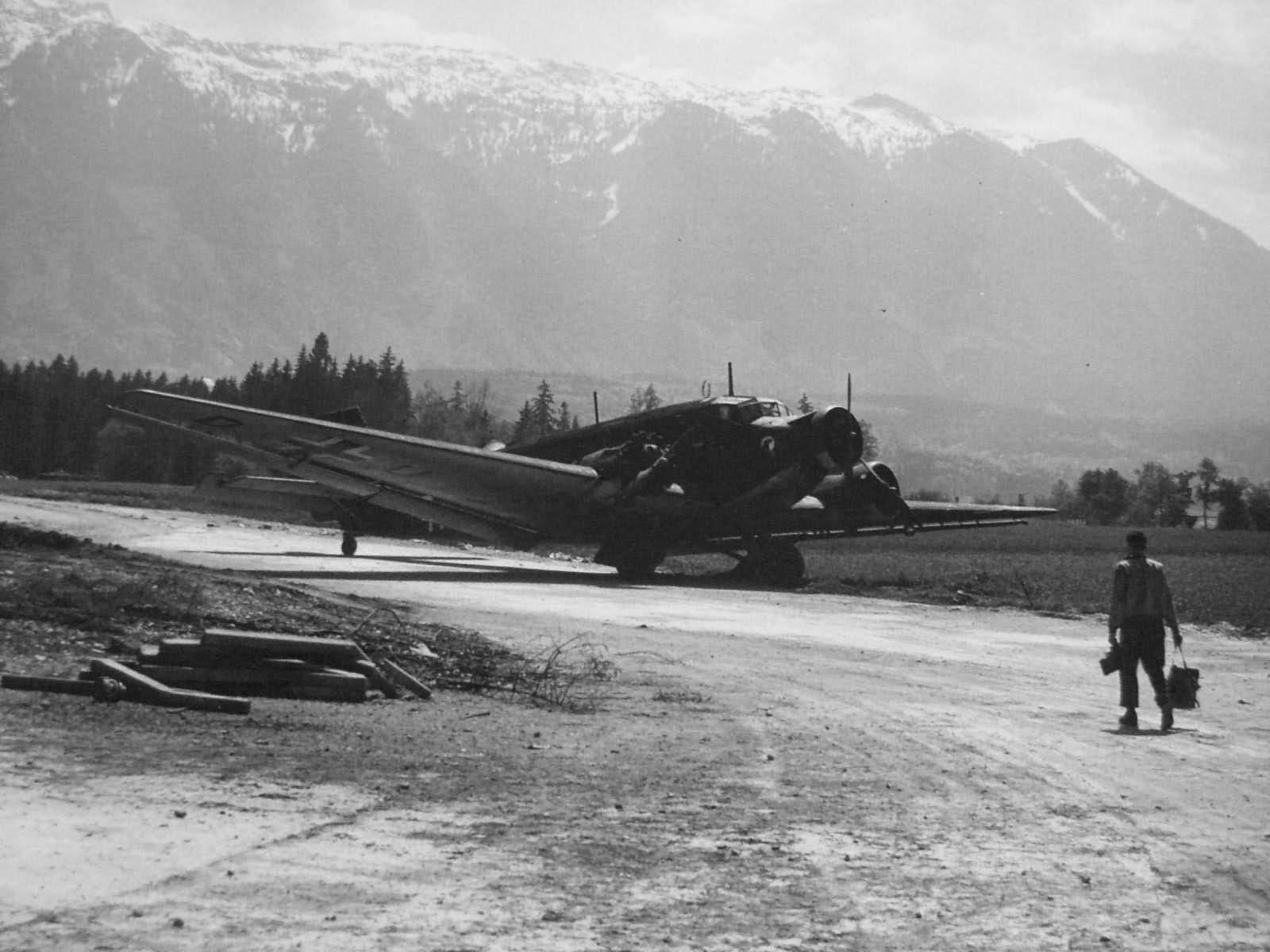 Junkers Ju 52 Tante Ju Salzburg Austria 1945