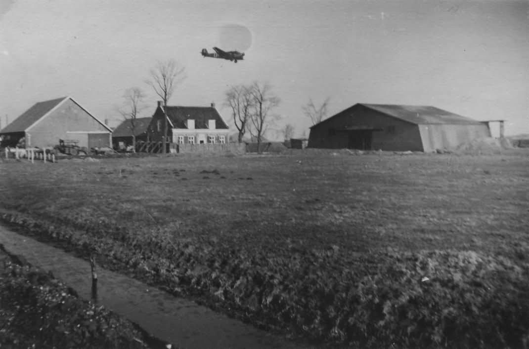 Junkers Ju 52 Shipol Amsterdam Holland 1941