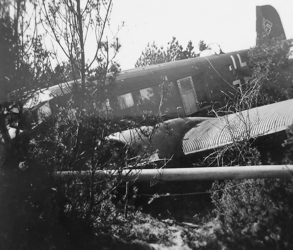 Junkers Ju 52 crash in Norway Stavanger Sola | World War Photos