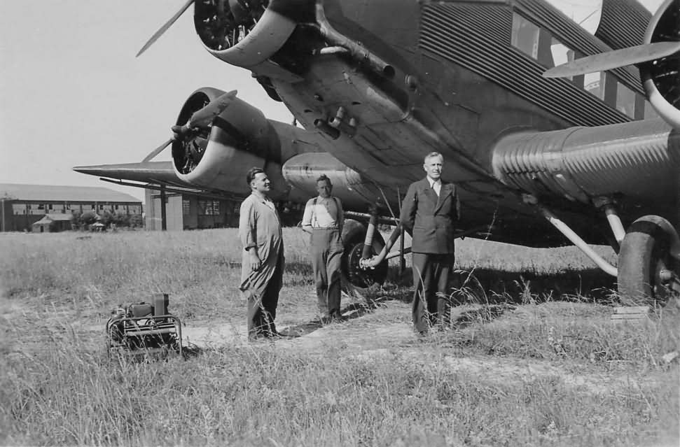 Junkers Ju 52 front view