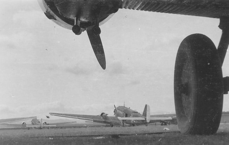 Junkers Ju 52 landing gear
