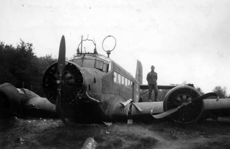 Junkers Ju 52/3m g3e near Arras France 2