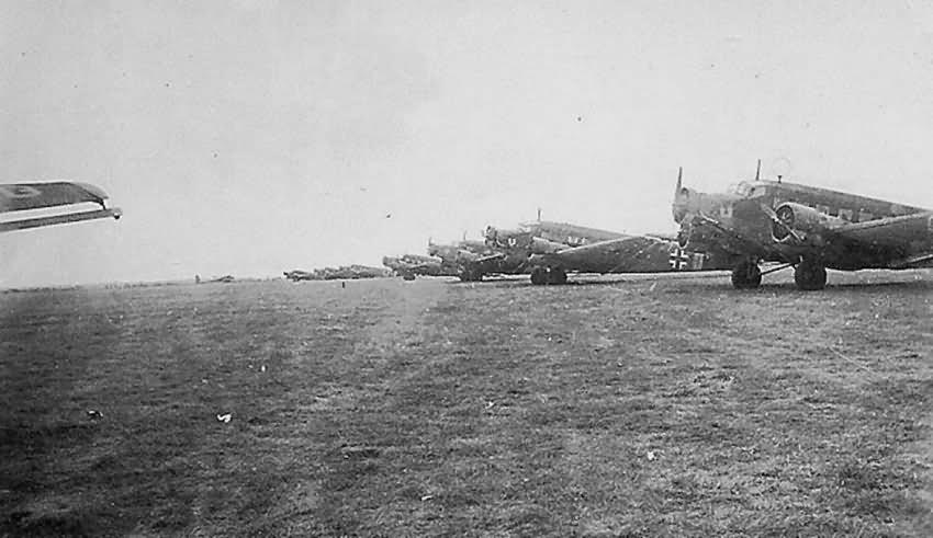 Junkers Ju 52 planes