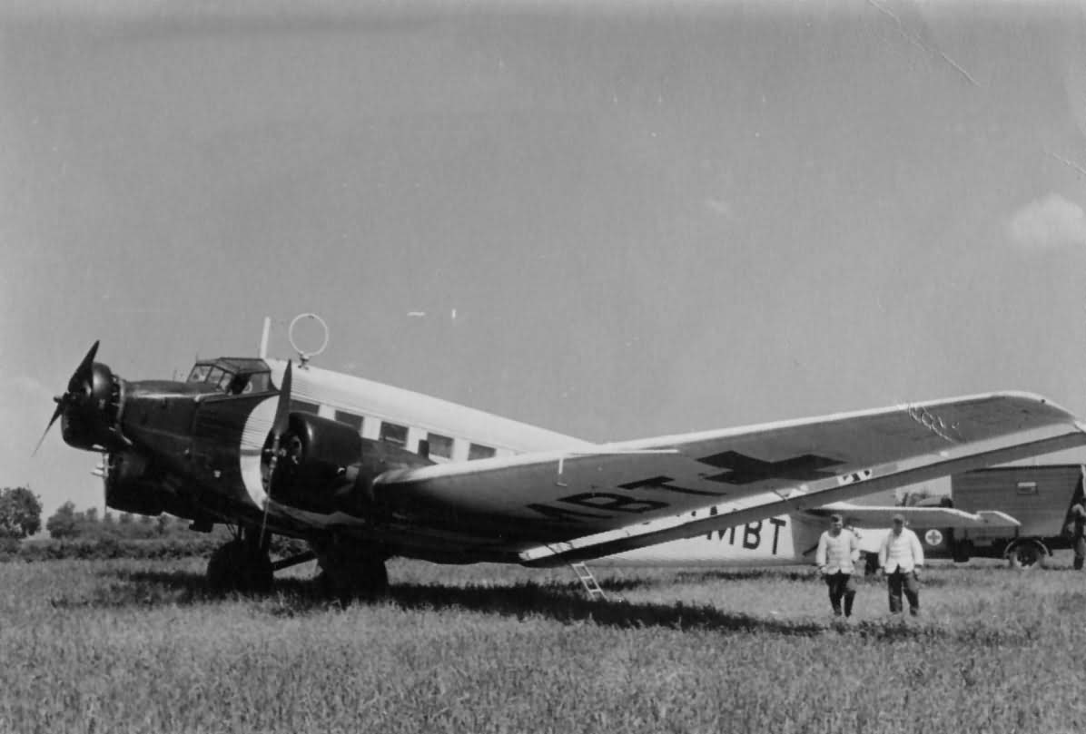 Junkers Ju 52 sanitary transport